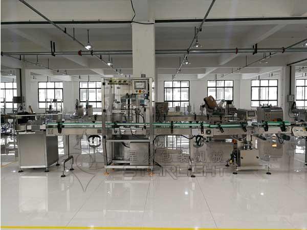 全自动辣椒酱灌装生产线星火厂房实拍图