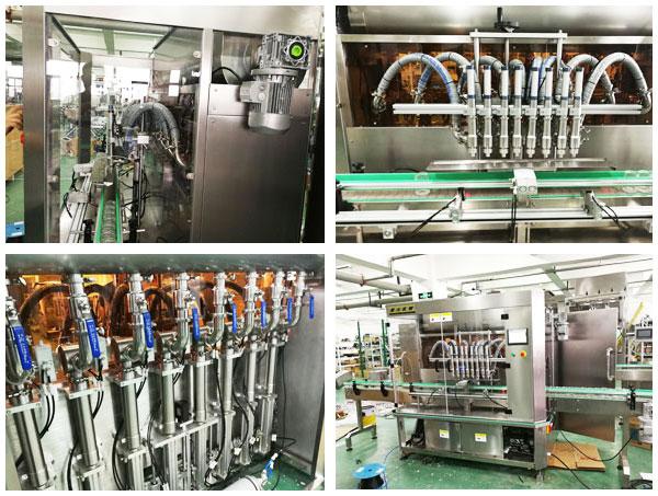 全自动麻辣酱酱料灌装生产线设备