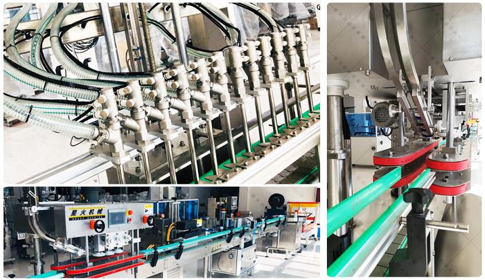 洗洁精ballbet贝博网页登录生产线价格-瓶装洗洁精灌装包装生产线