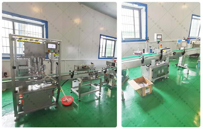 瓶装果酱灌装生产线-整套果酱灌装线设备客户案例展示